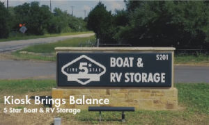 5 Star Boat and RVStorage Booked Over 75% of Lease Up Rentals with INSOMNIAC Kiosk to Surpass 50% Occupancy in 5 Months
