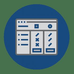 Kiosk Resources Circle Icons Comparison Chart